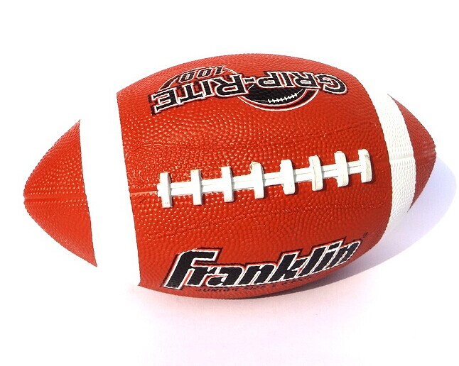 American rugby 5 rubber sports training ball American football 5 number students training ball practise rugby free shipping(China (Mainland))