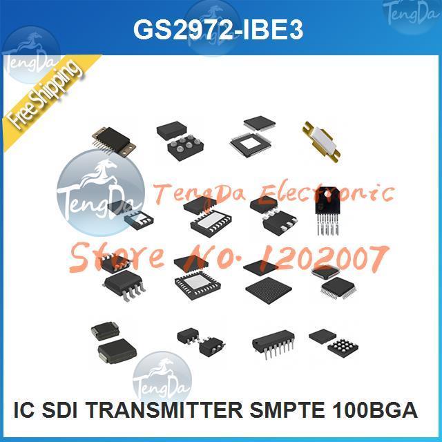 Free Shipping 1PCS/lot GS2972-IBE3 IC SDI TRANSMITTER SMPTE 100BGA 2972 GS2972 S2972(China (Mainland))