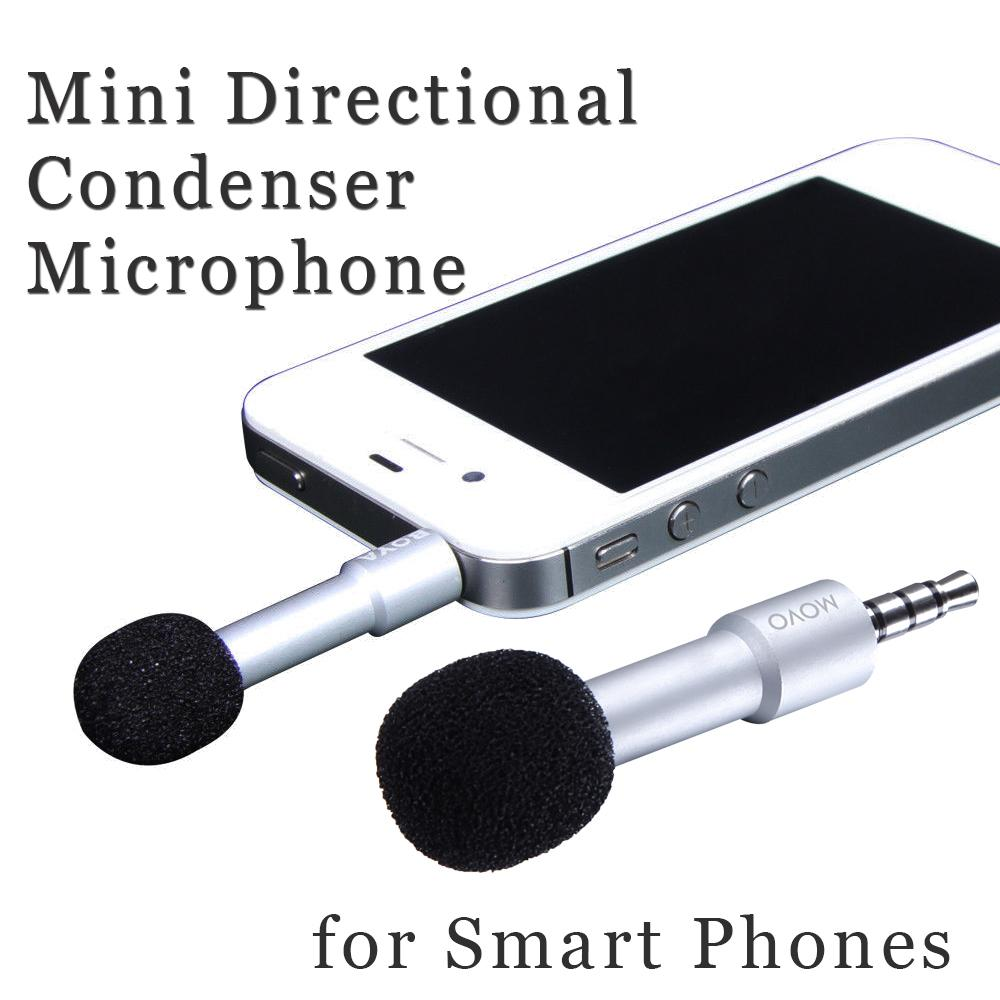 High Quality Mini Directional Condenser Microphone BY-A01 for iPhone 5 5s 4S 4,iPad4 Air Mini(China (Mainland))