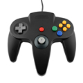 image for Wireless Bluetooth Game Remote Gamepad Controller Joystick Black+Red F