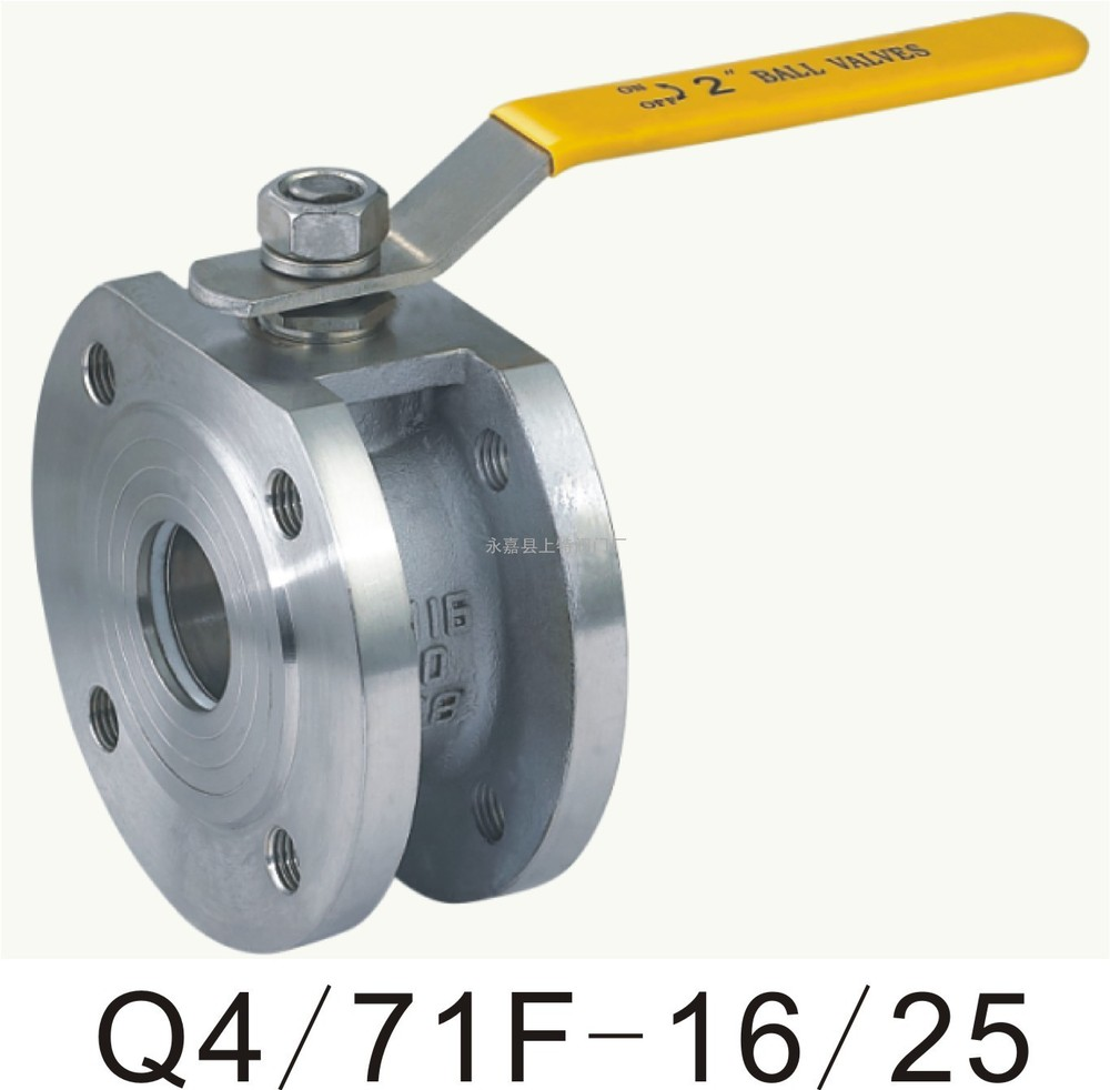 Здесь можно купить  Q71F-16P 304 stainless steel clip-Italian thin valve DN15 20 25 40 80 100  Аппаратные средства