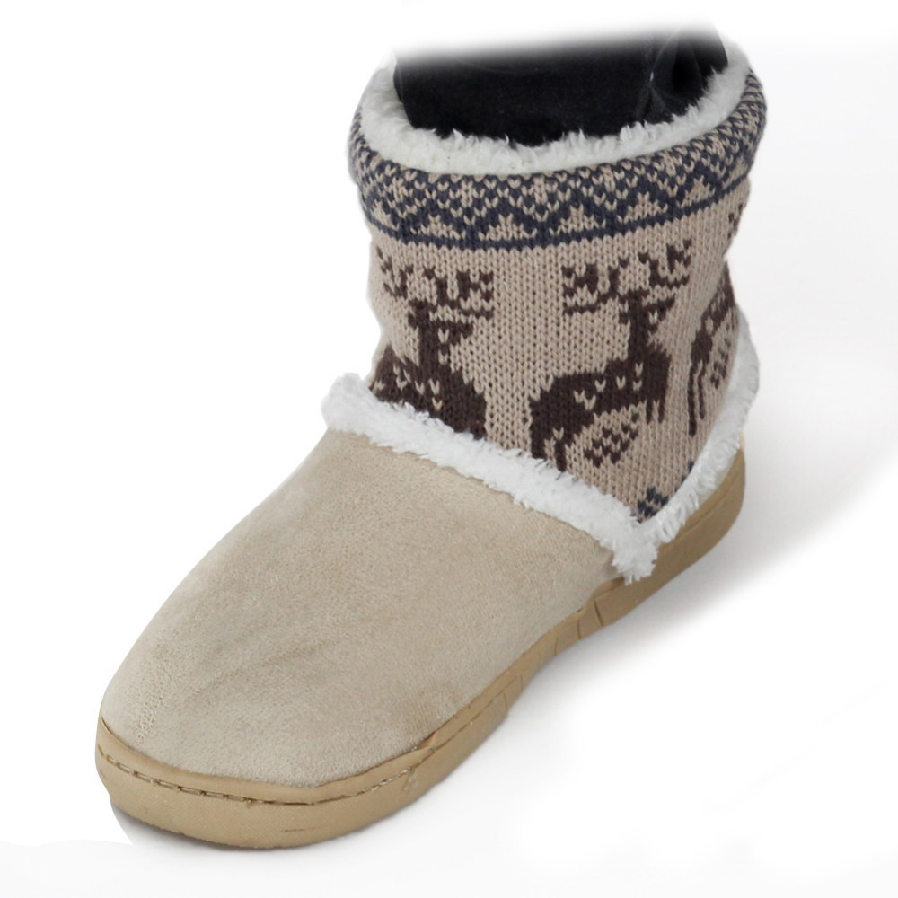 new 2015 warm cotton boots flat winter snow boots