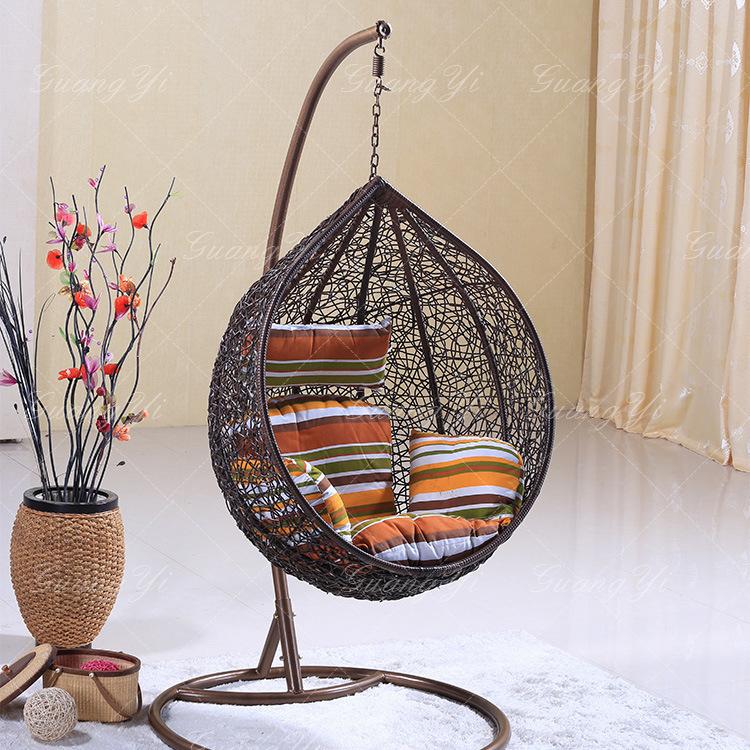 Rattan Outdoor Adult Nest Basket Swing Hanging Chair