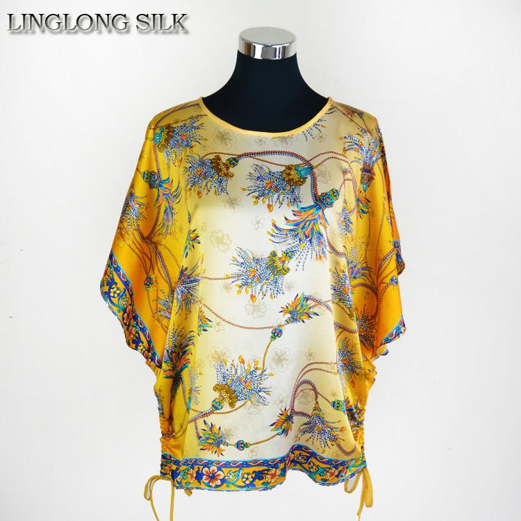 Clearance Sale Silk Butterfly Shirt 100 Natural Silk