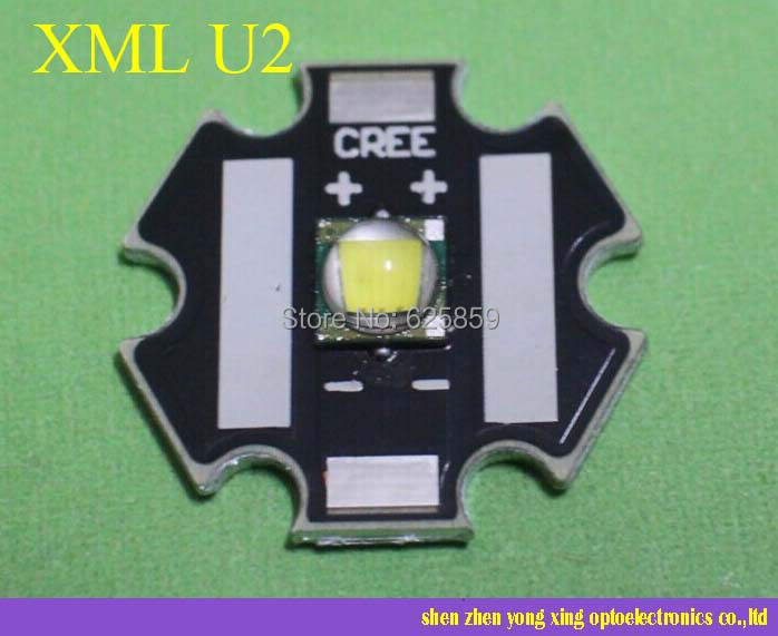 Cree XLamp XML U2 10W LED Emitter Cold White / warm white 20mm Star Base led flashlight - shen zhen yong xing optoelectronics co.,ltd store
