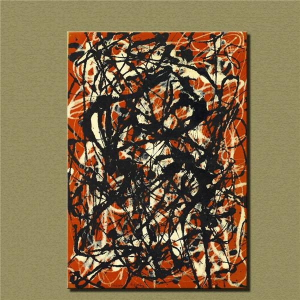 Cuadros 2016 Top Fashion Sale Wall Art Large Paintings For Home Decor Idea Painting Print On Canvas Jackson Pollock Free Form(China (Mainland))
