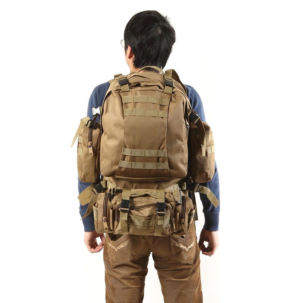 2015 NEW Style Outdoor Military Shoulder Tactical Backpack Hiking Trekking Bag Sport Travel Shoulder Bag Rucksacks 800D(China (Mainland))