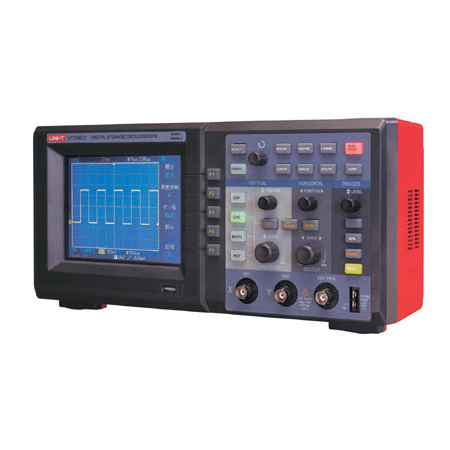Brand new UNI-T UTD2082C 500MS/s sample rate Full Colour LCD 2 channels Bench Type Digital Storage Oscilloscopes Freight Free(China (Mainland))