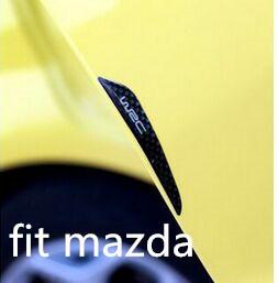 Car door scuff sticker WRC bumper strip FOR Mazda 2 3 5 6 8 CX-5 CX-7 CX-9 MX-5 ATENZA Axela(China (Mainland))