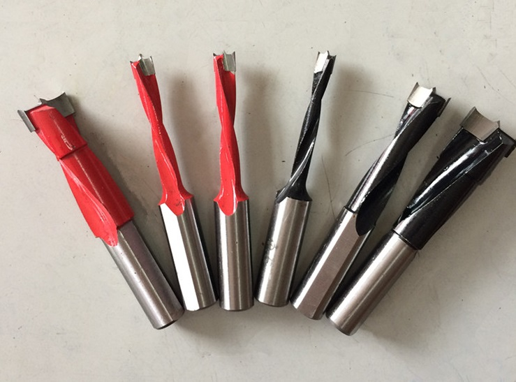 10PCS/LotIndustrial Carbide Tipped Brad Point Drilling Boring Bit Bits 5mm Diameter---70mm Height<br><br>Aliexpress