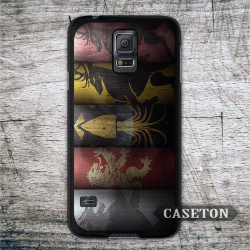 All House GOT Game Of Thrones Case For Galaxy S6 S5 S4 S3 mini Active Win Note 4 3 A7 A5 A3 Core 2 Ace 4 3 Classic Phone Cover(China (Mainland))
