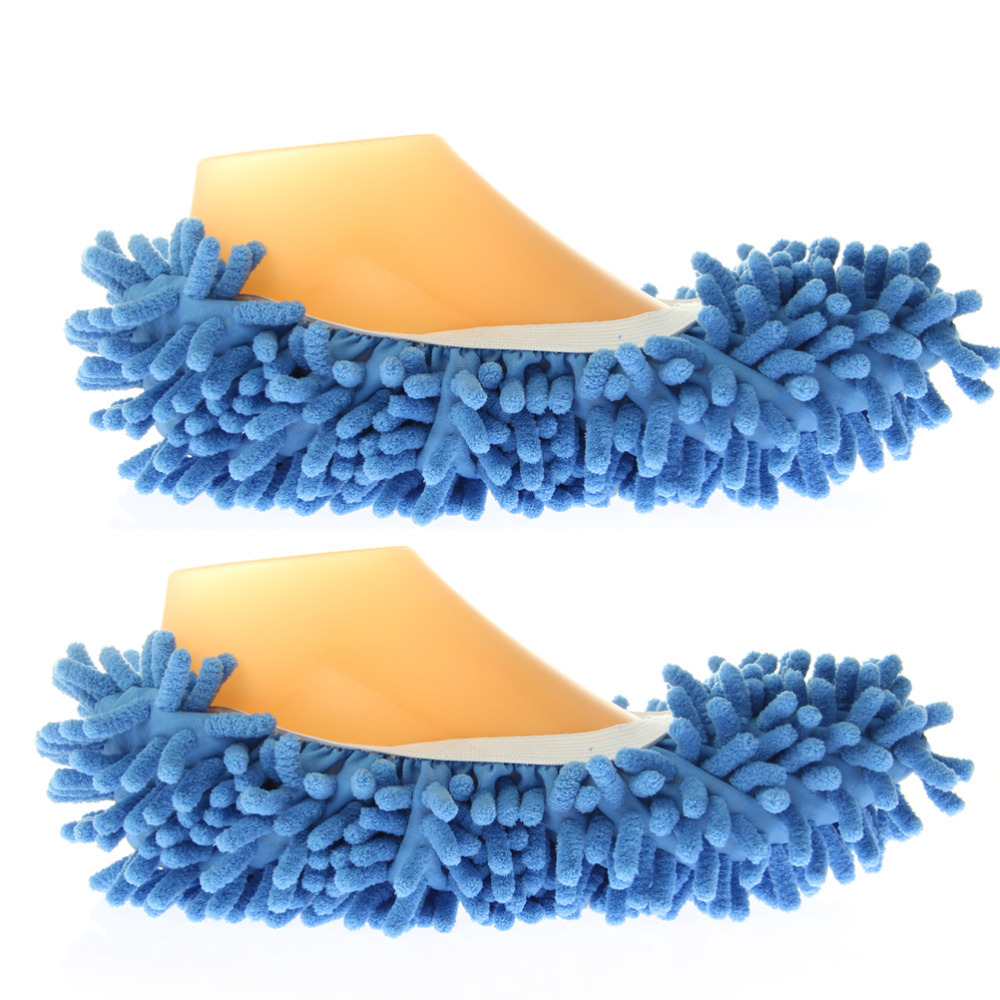 Home Slippers Functional and Adjustable Dust Mop Slippers Shoes Floor Cleaner(China (Mainland))
