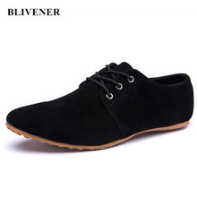 2016 Summer Fashion Mens Suede Shoes Black / Brown / Blue Casual Man Nubuck Leather Shoes Leisure Men Flats chaussure homme(China (Mainland))