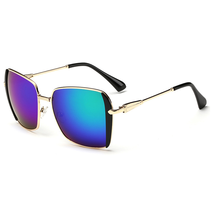 The new grey ant high quality men and women in general reflective sunglasses designer fashion metal drive the sun glasses(China (Mainland))