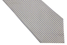 NT0559 Blue Green Gray Floral New Classic Silk Polyester Man s Jacquard Woven Necktie Business Casual