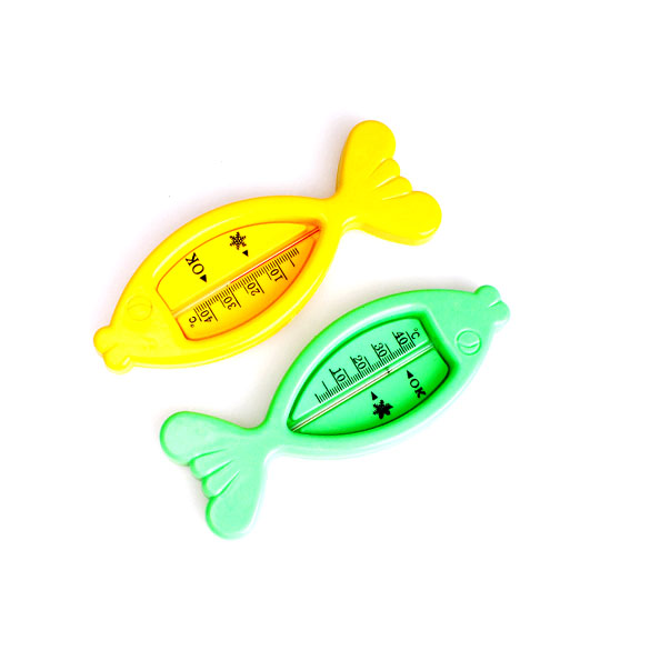 Floating Fish Lovely Plastic Float Toy Baby Bath Tub Water Sensor Thermometer BS88(China (Mainland))