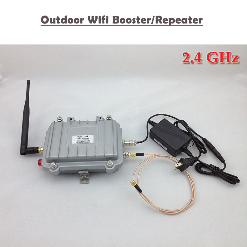 Free Shipping WiFi Signal Booster WIFI Repeater 2.4GHz Outdoor Amplificador Wifi Signal Amplifier Booster(China (Mainland))