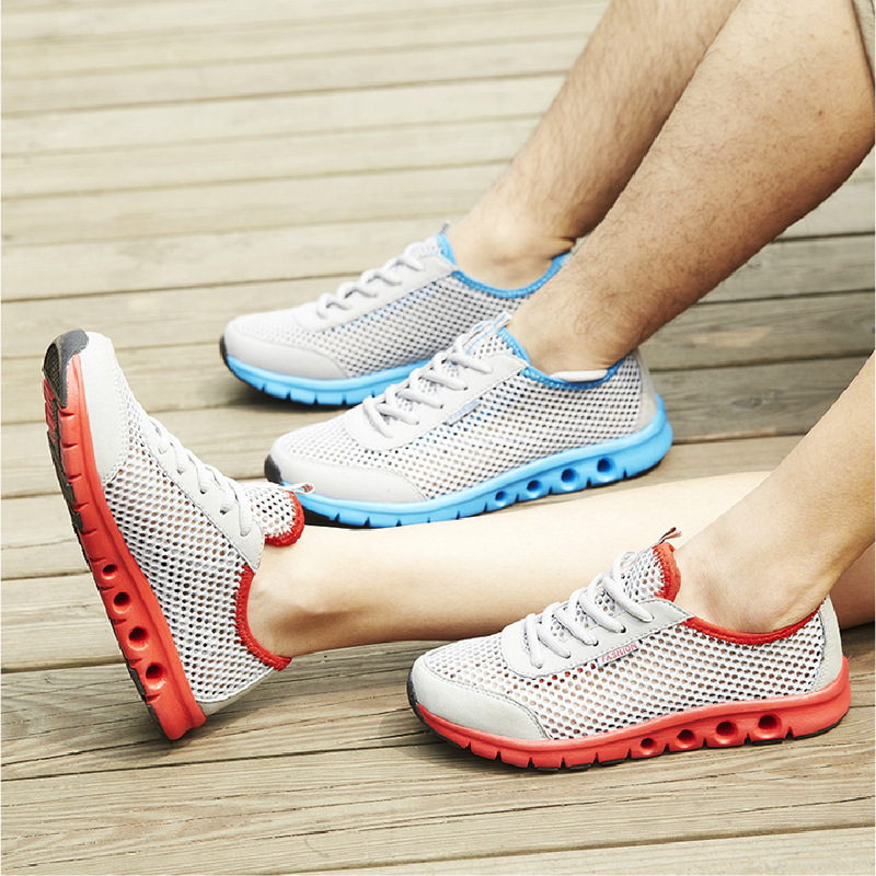 2015 New Brand Summer Men Running Shoes Mesh breathable,Super Light athletic Sports Shoes Woman sneakers free roshes run shox(China (Mainland))