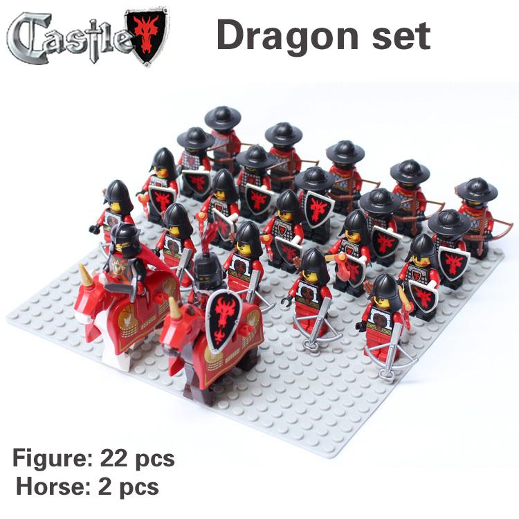 Castle Figures Toys Toys Compatible Castle
