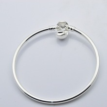 2017 New Arrival Fashion Snake Chain Fit Pandora Bracelet for Women Silver Plated Style Jewelry Free Shipping Gift For Women(China (Mainland))