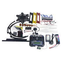 Ensemble complet RC Drone MultiCopter avions six - axe Kit F550 Hexa - Air Rotor cadre GPS APM2.8 vol de contrôle Flysky fs - i6 F05114-AW(China (Mainland))