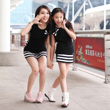 1PC Family Look Toddler Baby Girls/Womens Striped Dress short Sleeve Princess Party Dresses Kids Clothes Mother Daughter Dress