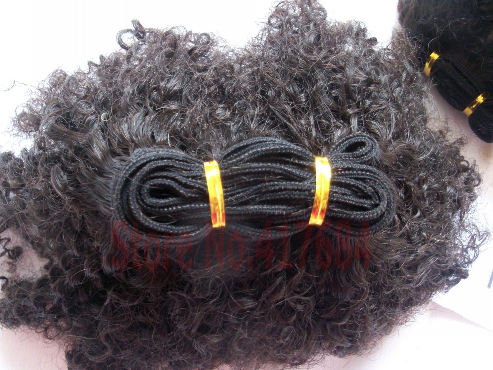 8A Mongolian Kinky Curly Hair Extensions 3pcs Afro Kinky Curly Virgin Human Hair Weave Natural Black 4A 4B 4C Afro kinky curly