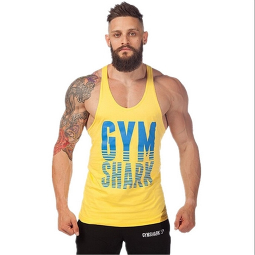 Animal Gym Fitness Tank Top Men Stringer Golds Bodybuilding Muscle Shirt Workout Vest Cotton Sport Undershirt Plus Size Clothes(China (Mainland))
