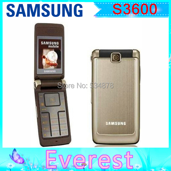 Original Unlocked Samsung S3600 Russian keyboard Mobile Phone 2.2inches1.3MP Without Polish language One year Warranty(China (Mainland))