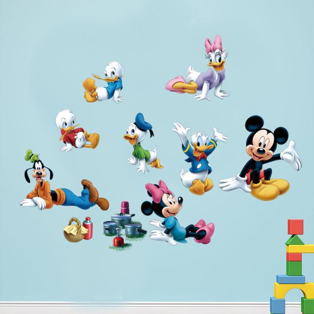 Животных мультфильм детский сад съемный стены стикеры для детей номеров домашнего декора поделки обои арт наклейки X011 украшение дома