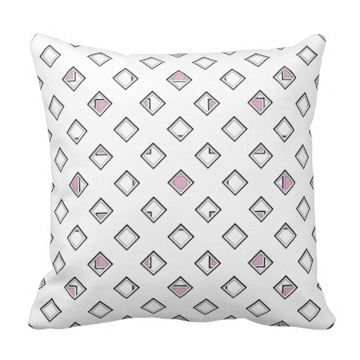 Home Pillow Cases Artsy Pattern Classy Pink Pearl Pillow Case (Size: 20