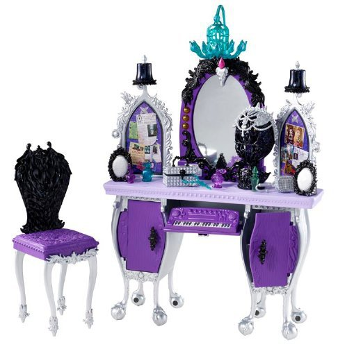 Genuine Original Ever After High Getting Fairest Raven Queen Destiny Vanity Accessory Best gift for girl Free shipping new 2014<br><br>Aliexpress