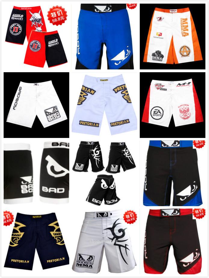 2015 new mma sport cman Thai shorts / Sanda Boxing Muay Thai supplies/ Fighting MMA Shorts for man/Boxing Training L-XXXL(China (Mainland))