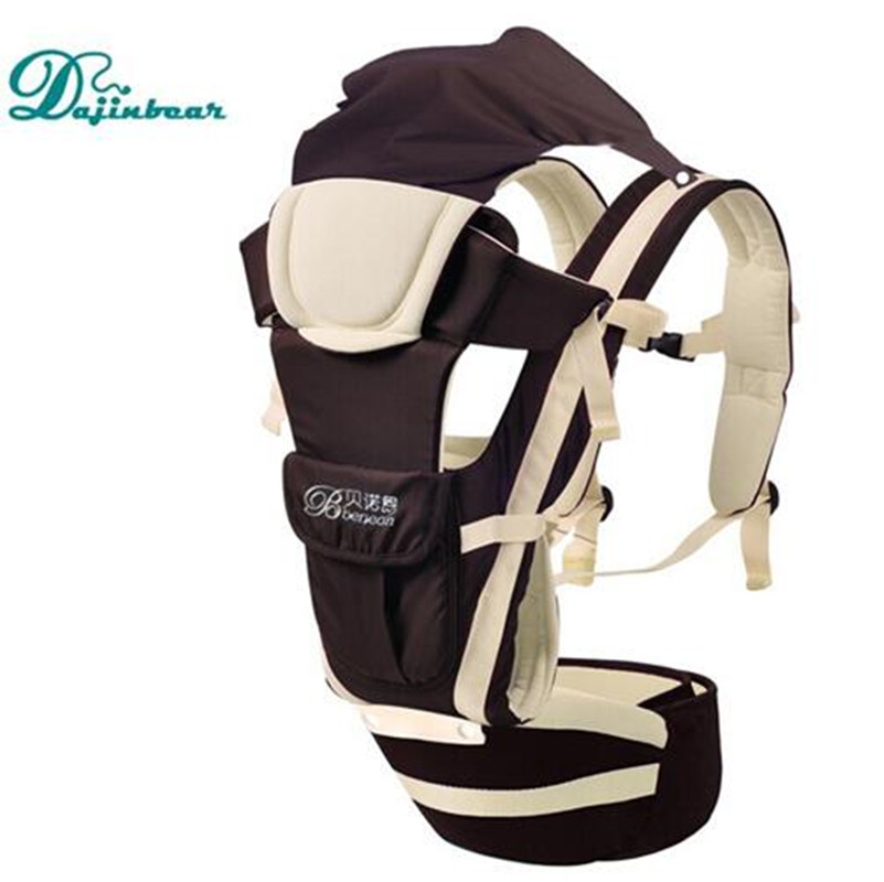 2016 Updated Baby Carrier Hip Seat with hood 6 in 1 Backpack Baby Sling Wrap Carriers Toddler Baby Hip seat kangaroo suspenders<br><br>Aliexpress