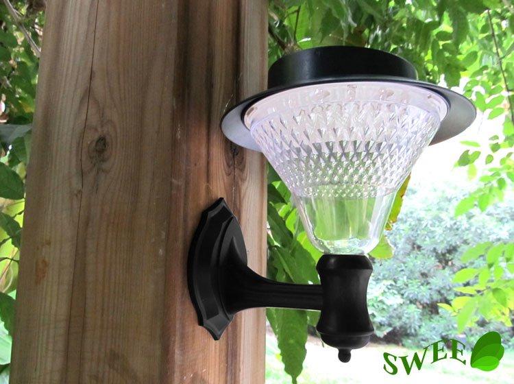 Solar Lamp 16 LEDs Outdoor Wall Lights Solar Garden light, Garden Decorations Solar Lighting-in ...