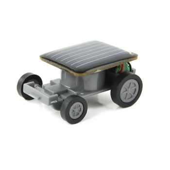 Free Shipping Mini Solar Car Energy Racing Car Solar Powered Toy XMAS