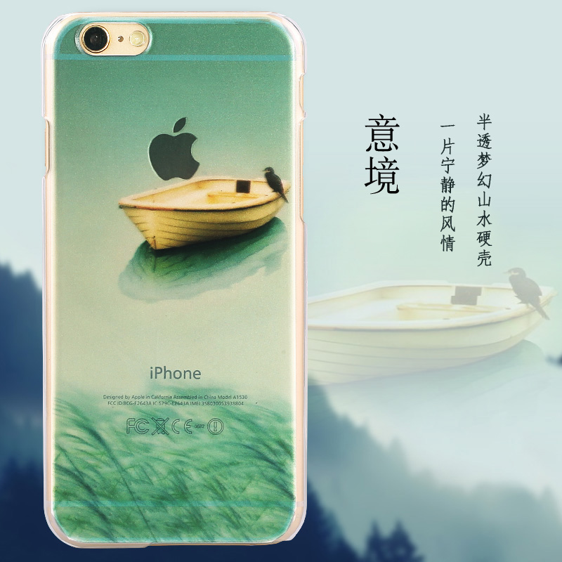 MANDERM brand Painted hard case cover For iphone 5 5s se 6 6s 6plus phone case protective brief colored drawing ultra-thin cases(China (Mainland))