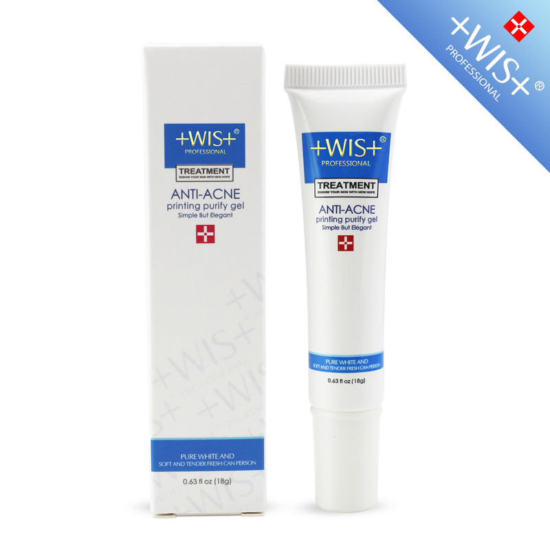 WIS 18g Face Skin Care Scar Acne Printed Repair Scar Acne Printed WIS Purifying Gel 18g Beauty Product(China (Mainland))