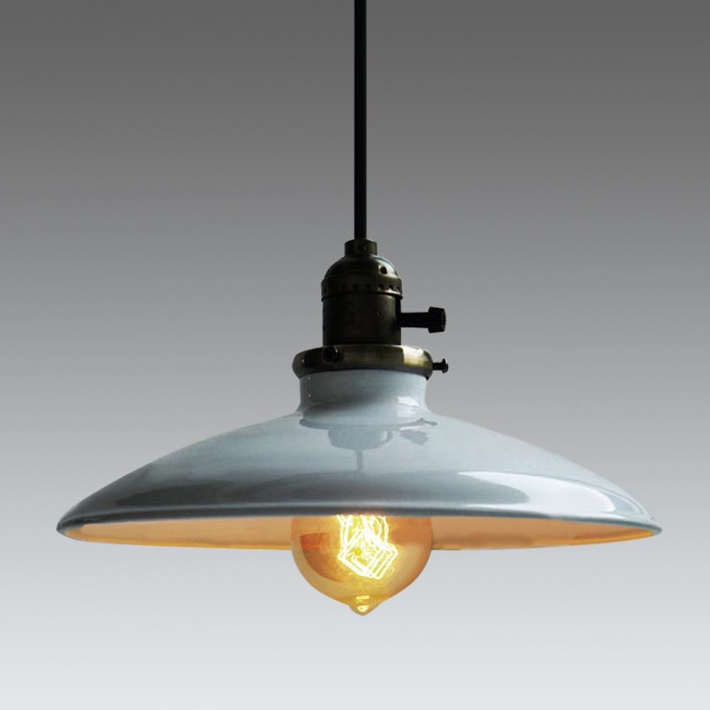 Loft Vintage Pendant Lamp Dia 250mm E27 Aluminum Iron Retro Northern Europe Industrial Style Edison Pendant Lights(China (Mainland))
