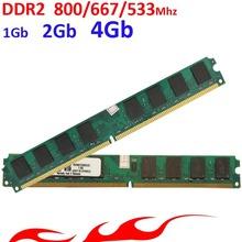 Memoria оперативной памяти ddr2 Для Intel/AMD DDR2 800 667 533-1 ГБ 2 ГБ 4 ГБ/ddr2 RAM-пожизненная гарантия-800 МГц 667 МГц 533 МГц(China (Mainland))