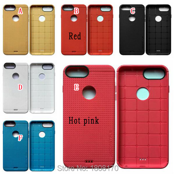 Dot Square Soft TPU Silicon Case For Iphone 7 Plus Pro Iphone7 I7 Honeycomb Luxury Tough Rugged Colorful Phone Skin Cover 20pcs(China (Mainland))