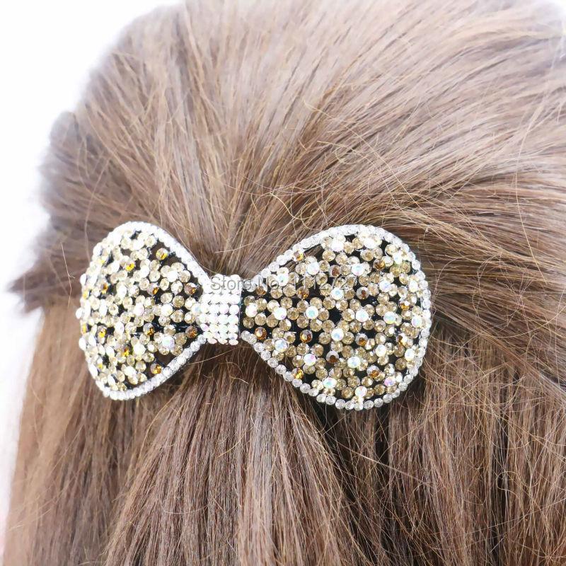 43*89mm Elegant Hot style Wedding Headdress Rhinestone Butterfly Rhinestone Hairpin Hair Accessory Crystal Headpiece Gifts(China (Mainland))