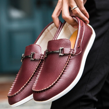 2016 Limited Led Shoes Yeezy Autumn Men's Bean Shoes Youth Fashion One-pedal Tide Student Bandwidth Legs Lazy Casual Driving(China (Mainland))