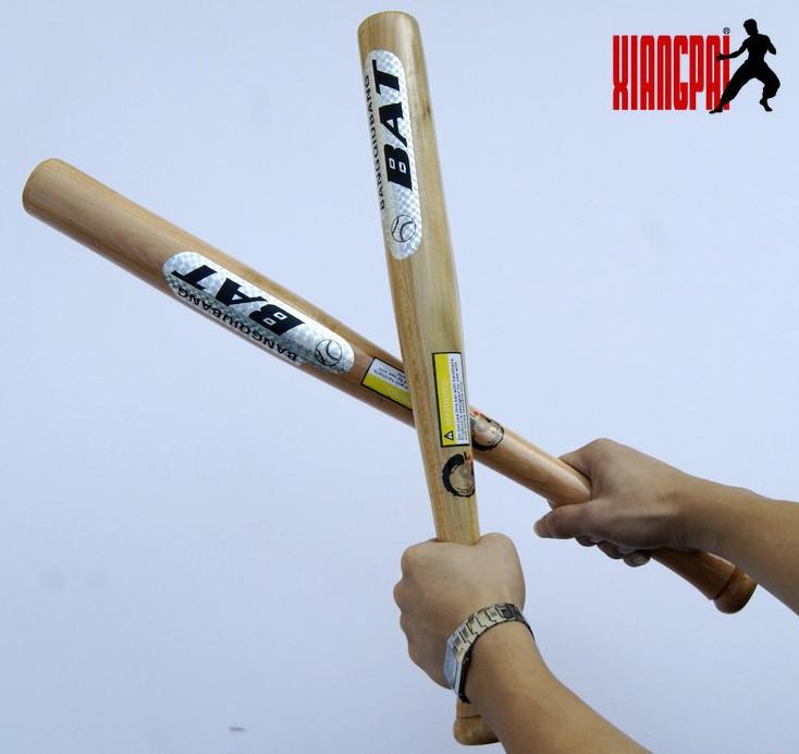 XiangPai high quality 64cm long beech wood baseball softball bat Unleashing outdoor sports training self defense free shipping(China (Mainland))
