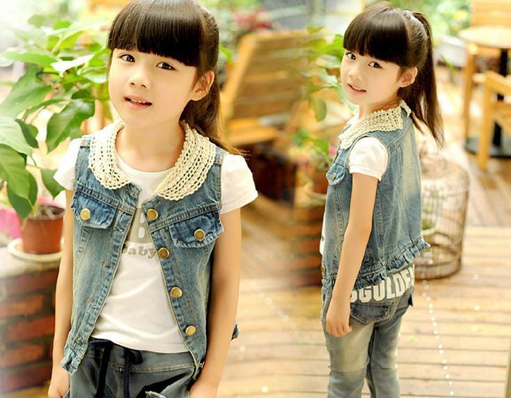 Фото модные безрукавки для девочек