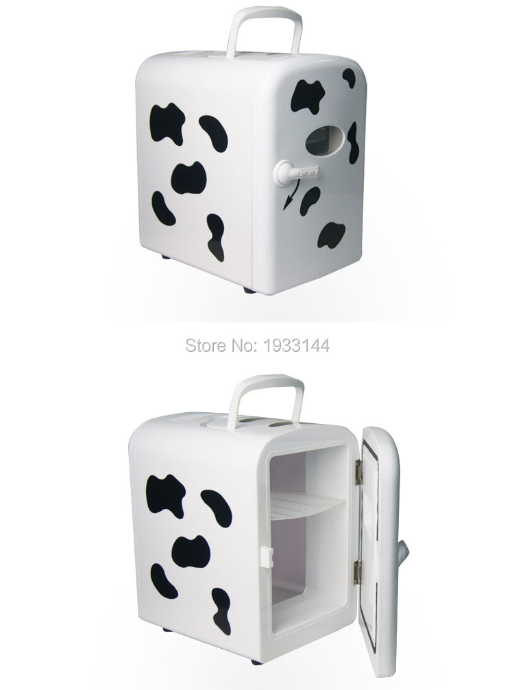 4L Portable Mini 12V Car Refrigerator bag For Cooling Heating Fridge Household Dual-use Cooler&warmer Box For Travel Outdoor(China (Mainland))