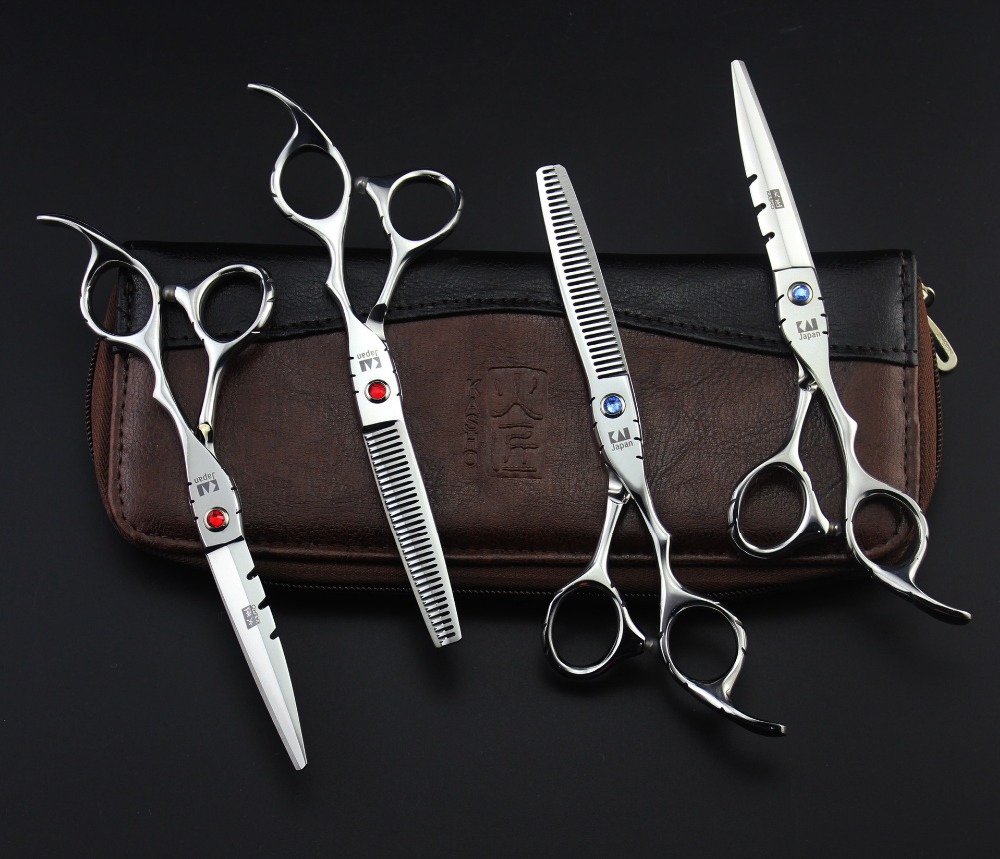 High Quality Japan Kasho Professional Hair Scissors Set Hairdressing Barber Equipment Products Tools Cutting Haircut Peluquero(China (Mainland))
