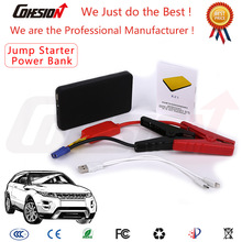 Black Color 5V 12V 6000mah Mini portable power jump starter for Car Mobile Tablets