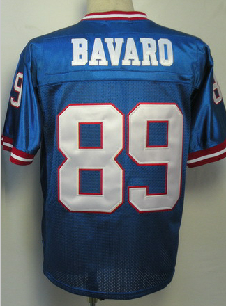 New York #89 Mark Bavaro Jersey Throwback American Football Jersey Stitched Logo Embroidery Retro Authentic Sports Jerseys(China (Mainland))