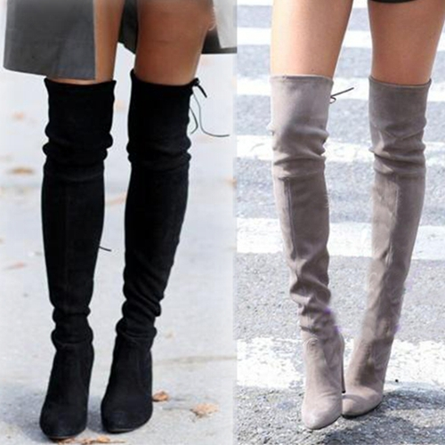 The Knee Boots Women